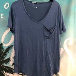 Very soft blue tee size large